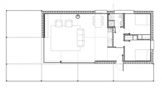 House in ga ses anna eugeni bach archdaily for Bach floor plans
