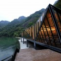 Tianmen Mountain Restaurant / Liu Chongxiao © Courtesy of Liu Chongxiao