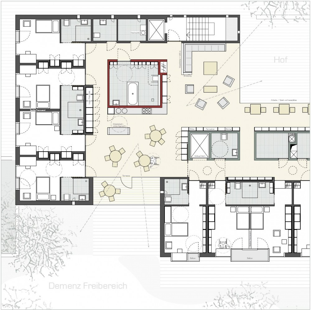Architecture photography plan 145440 for Small home plans for seniors