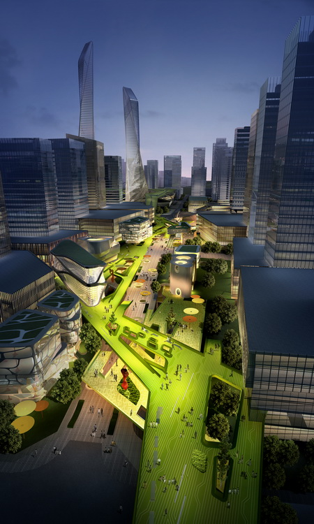 Southern Island of Creativity / Chengdu Urban Design Research Center
