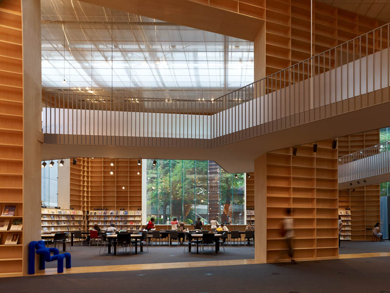 Musashino Art University Museum &#038; Library / Sou Fujimoto