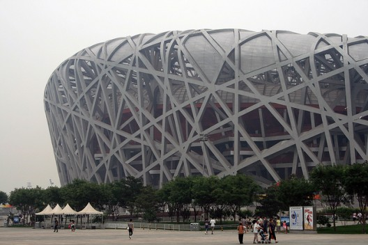 Ai weiwei is free at last plus photos of his architecture for Ai weiwei bird s nest stadium