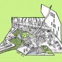 Mesterfjellet School Cebra sketch 01-outdoor : © Cebra / Various Architects / Østengen & Bergo