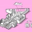 Mesterfjellet School Cebra sketch 02-classrooms : © Cebra / Various Architects / Østengen & Bergo