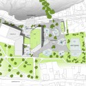 Mesterfjellet School site plan : © Cebra / Various Architects / Østengen & Bergo