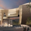 NMC King Eddy View National Music Centre street view / © Allied Works Architecture