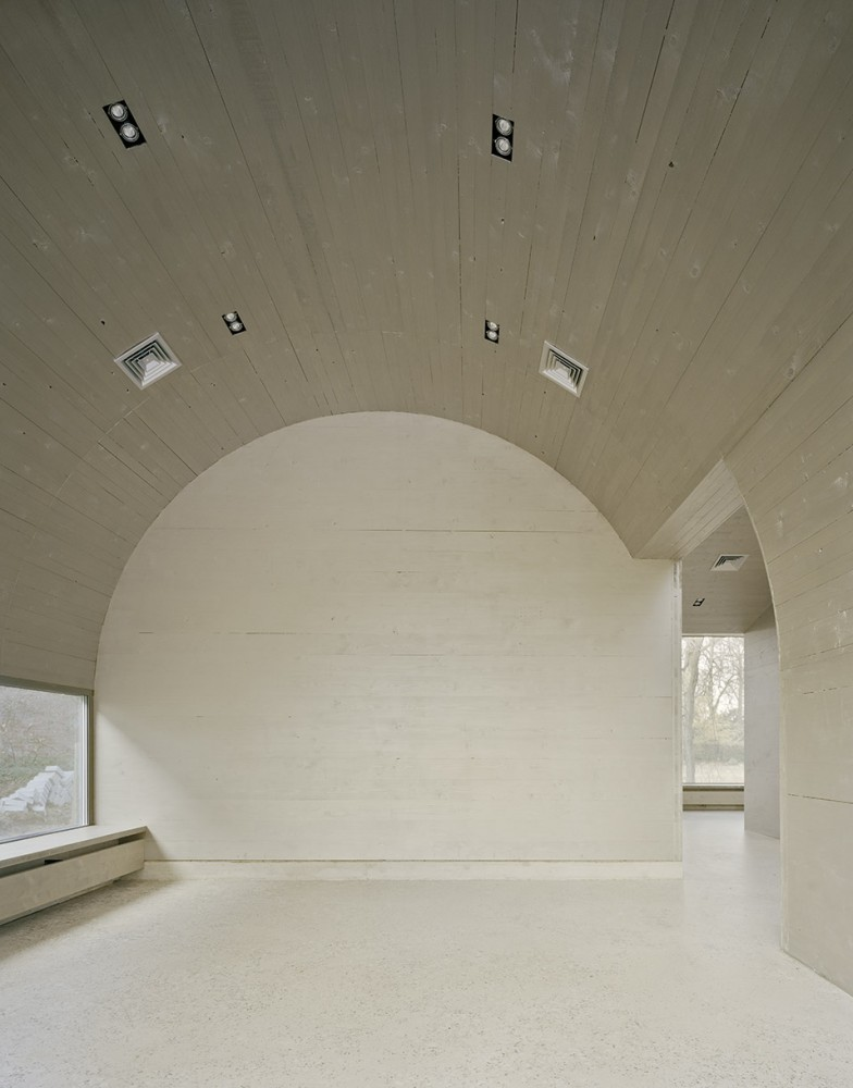 Cafe Pavilion / Martenson and Nagel Theissen Architecture