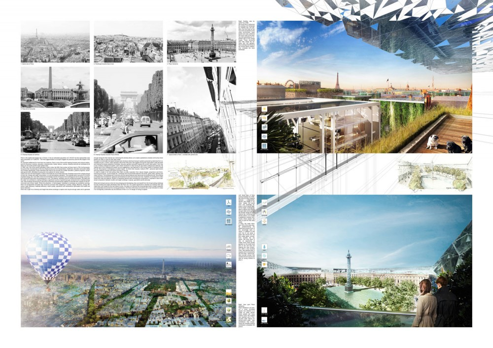 Reinterpretation of Paris Proposal / Daniel and Maximilian Zielinski
