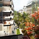 Reinterpretation of Paris Proposal street
