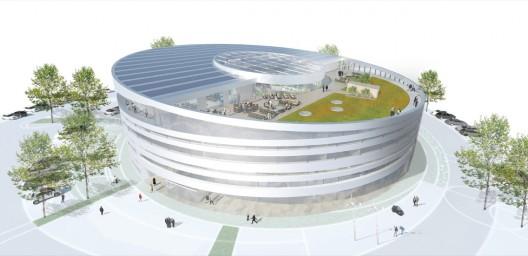 Headquarter For Se Gpp Architects