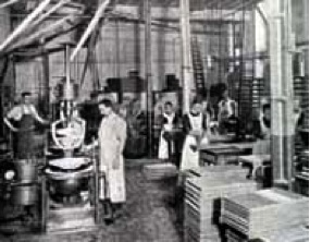 19th Century Confectionary factory, via www.bbc.co.uk