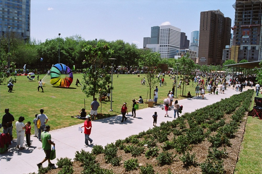 Discovery Green / Hargreaves Associates