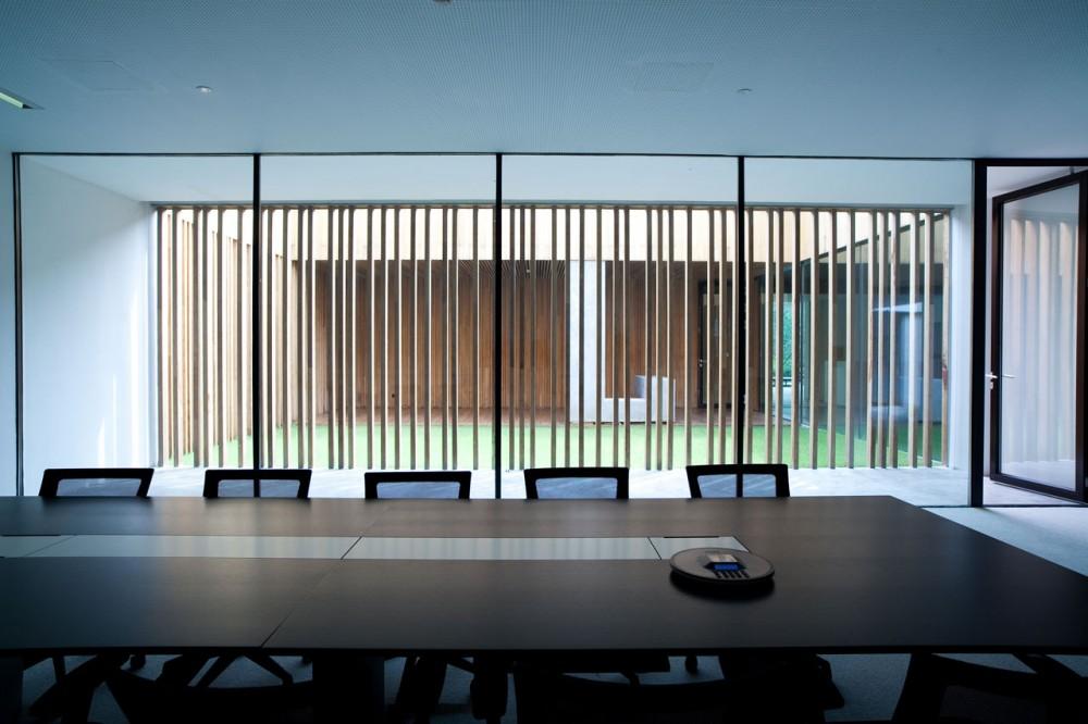 Architecture Photography NJFS CEO Office EXH Design