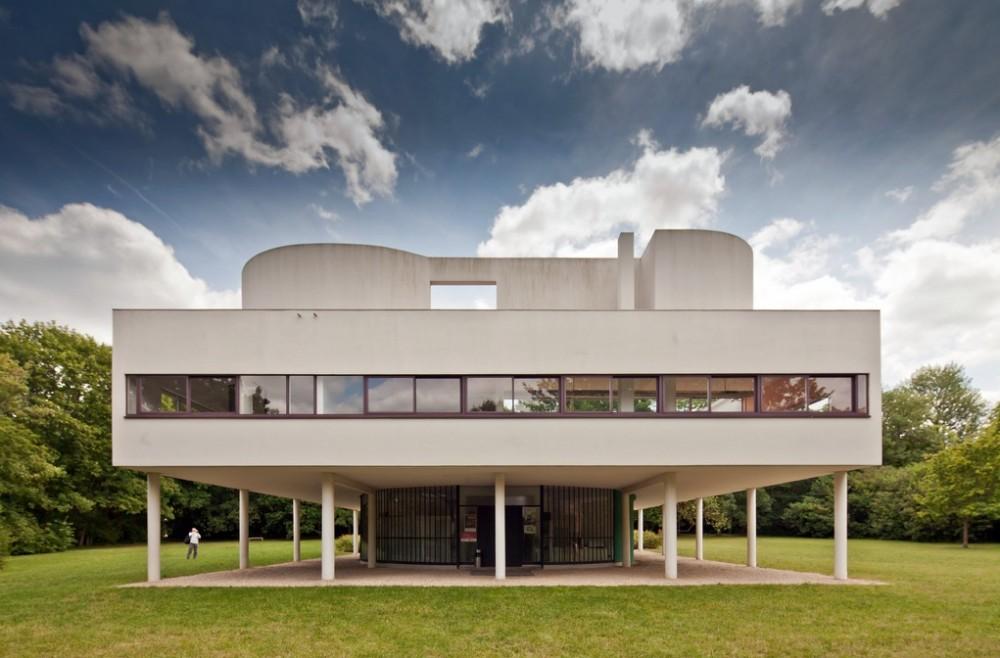 Architecture city guide paris archdaily - Le corbusier villa savoye ...