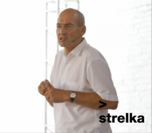 Rem Koolhaas' opening lecture at the Strelka Institute