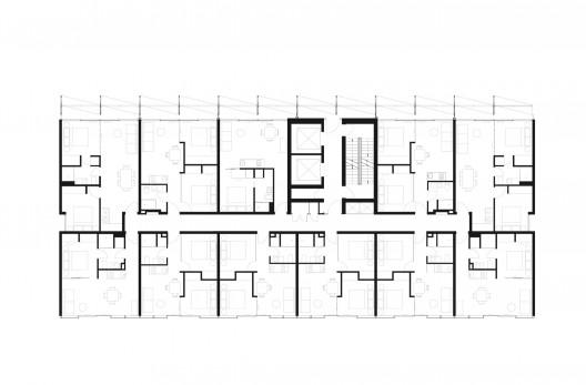 A beckett tower elenberg fraser archdaily for Apartment floor plans australia