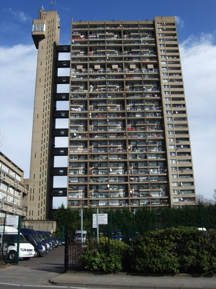AD Classics: Trellick Tower / Erno Goldfinger