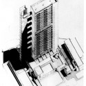 Trellick Tower Axonometric