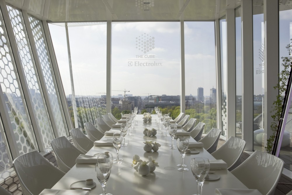 The Cube Restaurant in Brussels