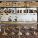 Barbican Foodhall and Lounge / SHH Courtesy of SHH