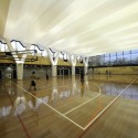 Multi-Purpose Sports Hall and Teaching Facility Courtesy of PTW Architects