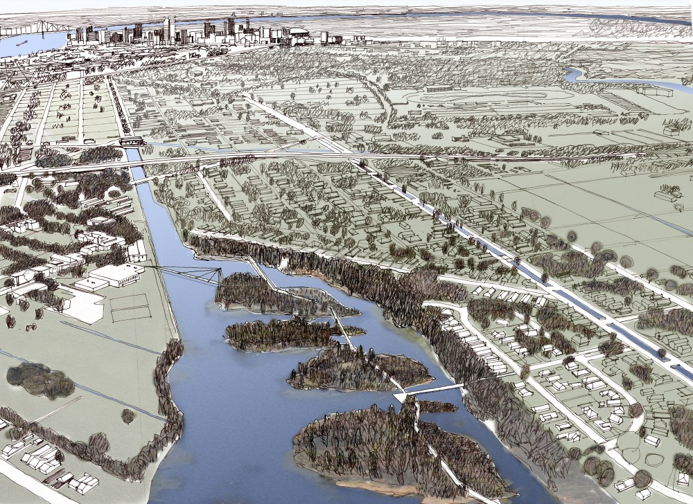 Comprehensive, Integrated, Sustainable Water Management System for the Greater  New Orleans Region / Waggonner & Ball Architects
