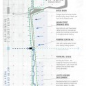 Lafitte Greenway Plan Diagram - potential water strategy pilot project © Waggonner & Ball Architects