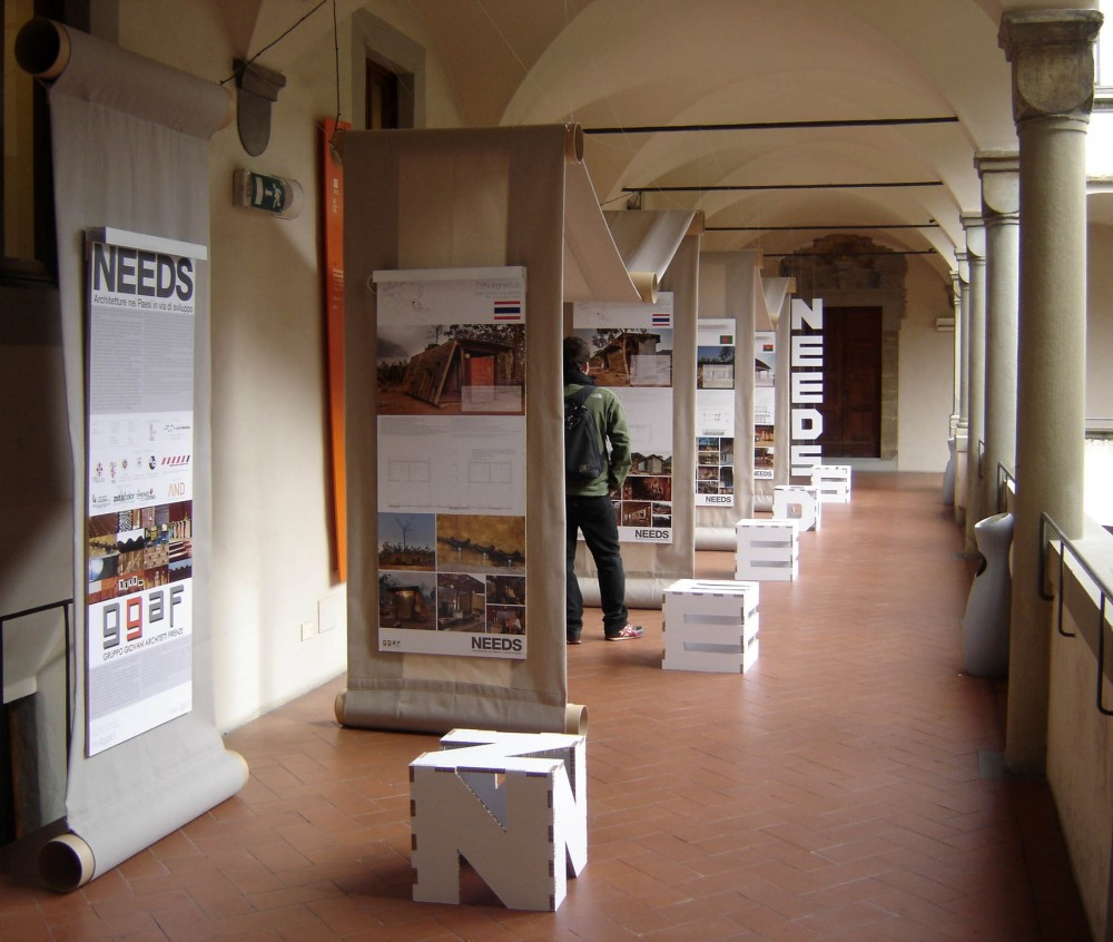 NEEDS-Architecture in Developing Countries / Young Architects in Florence