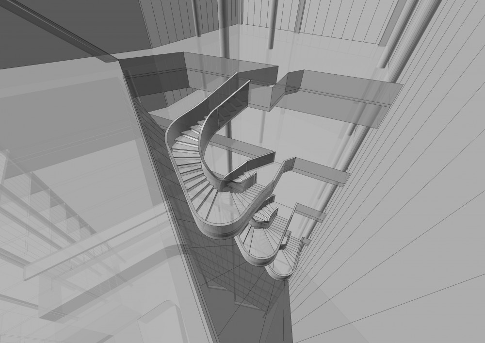 BLC Headquarter Landmark / Hapsitus Model Space Imaging