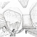 sketch inner void Inner Void Sketch Courtesy Synarchitects