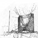 sketch street view Streetview Sketch Courtesy Synarchitects