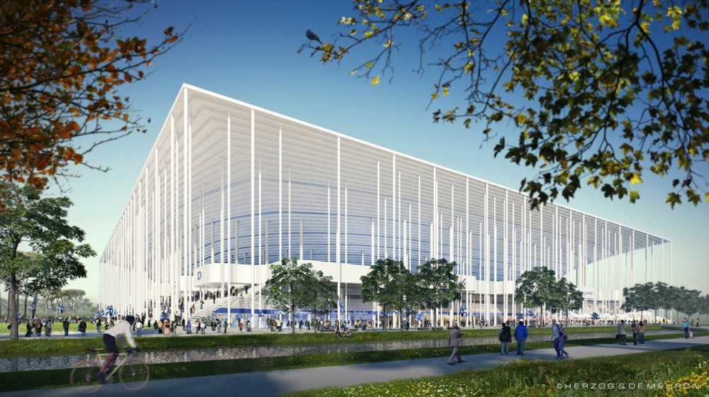 Herzog & de Meuron Preferred Bidder for the 'Grand Stade de Bordeaux'