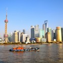 Shanghai's Pudong District on the Rise Photo by Shreyans Bhansali - http://www.flickr.com/photos/thebigdurian/