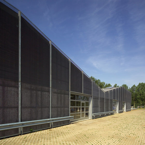 Schoten Workshop Building / Loos Architects