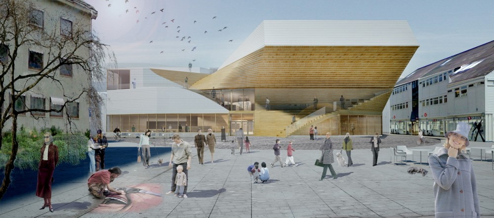 Flekkefjord Cultural Center / Helen & Hard