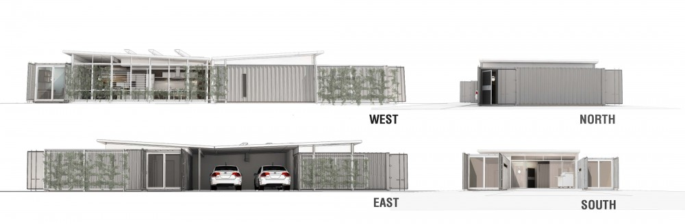 Florida Case Study House Competition Proposal / Co-tain & MWBa LLC