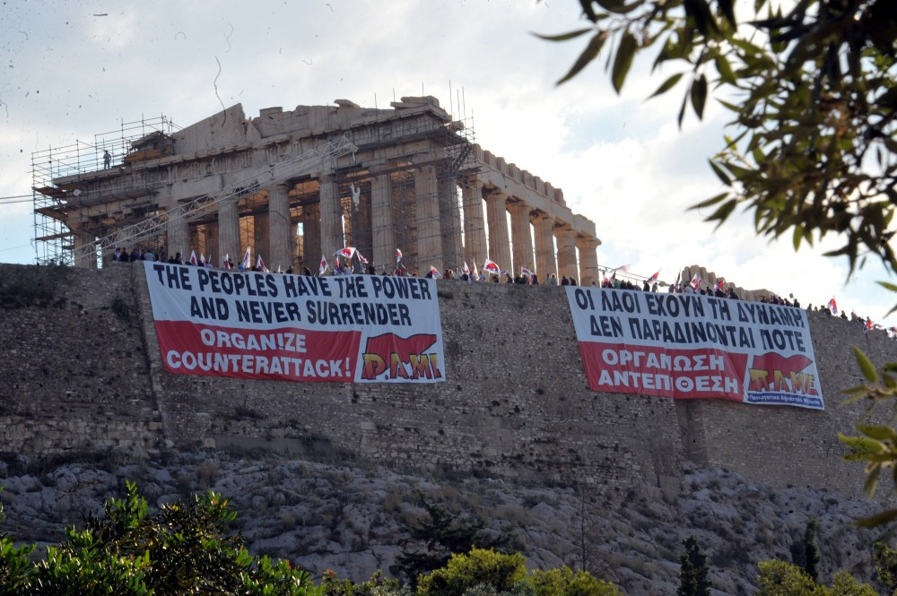 The Greek Debt Crisis and Historical Landmarks