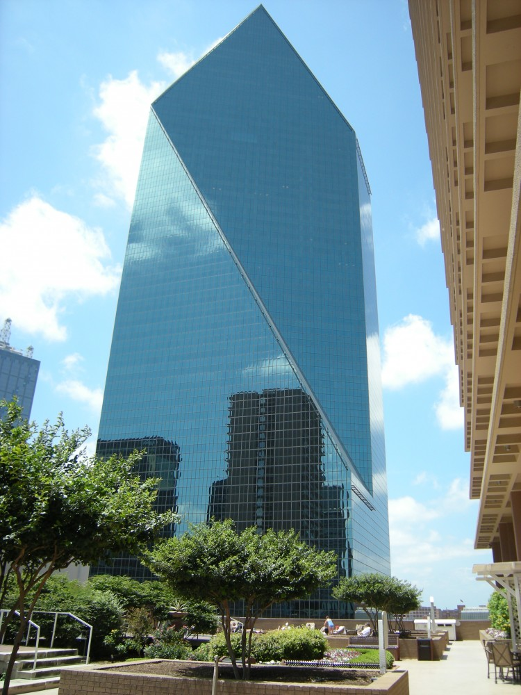 Texas Society of Architects' 25-Year Award Presented to I. M. Pei & Partners' Fountain Place
