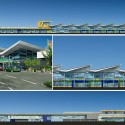 Myrtle Beach International Airport / inFORM Studio Elevations © inFORM Studio