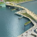 Providence River Pedestrian and Cyclist Bridge Competition Winner / inFORM Studio (1)  inFORM Studio