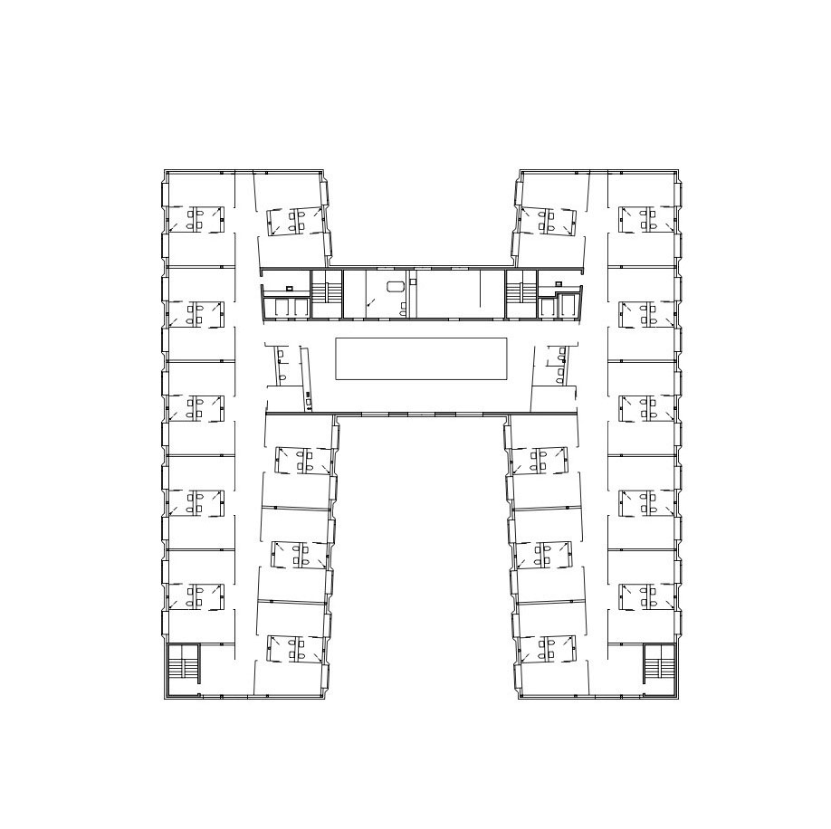 Retirement Home / meier + associés architectes Floor Plan ...