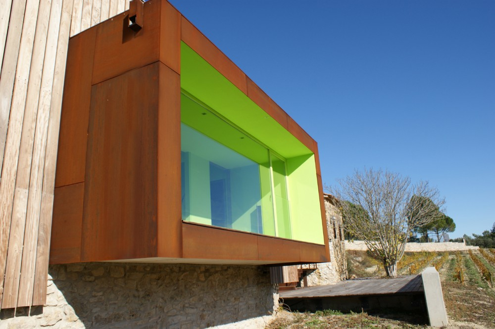 Spring in Pantone 375C, Mas Rodó Winery / SALA FERUSIC Architects (10) © SALA FERUSIC Architects