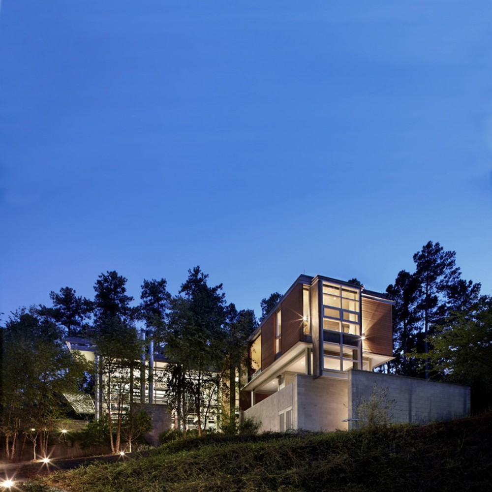 Paletz Moi Residence / Kenneth E. Hobgood Architects