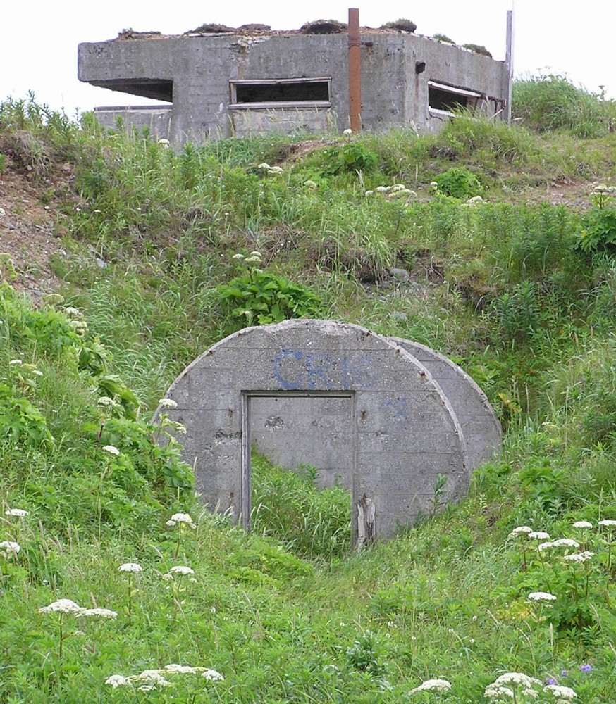 The Decaying Dutch Harbor Bunkers