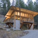 Wintergreen Cabin / Balance Associates Architects (8) © Steve Keating Photography