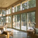 Wintergreen Cabin / Balance Associates Architects (1) © Steve Keating Photography