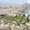 Kaohsiung Port Station Urban Design Proposal (1) aerial