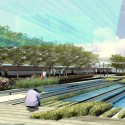 Kaohsiung Port Station Urban Design Proposal (3) pond
