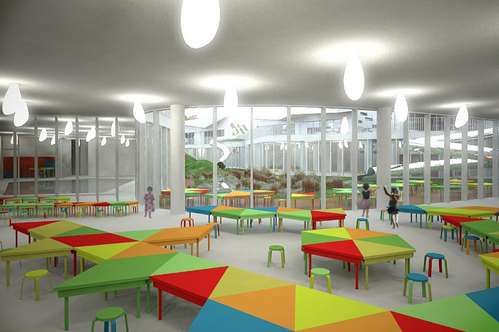 Kindergarten Competition Proposal / ARHIS