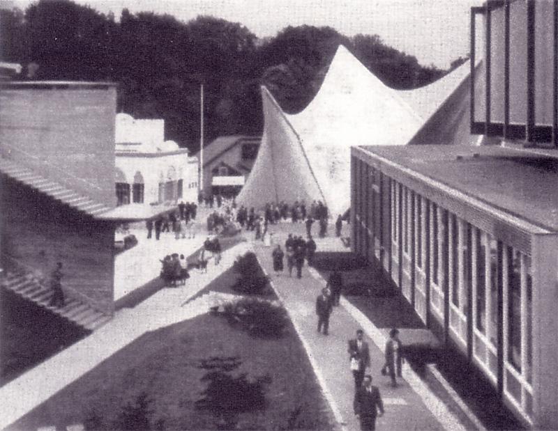 AD Classics: Expo '58 + Philips Pavilion / Le Corbusier and Iannis Xenakis